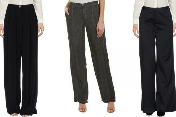 black linen trousers - JK Style