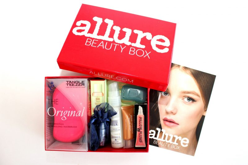allure beauty box - friday favorites - jk style