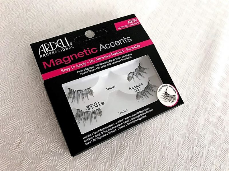how to apply magnetic lashes - Ardell Magnetic Accents - JK Style