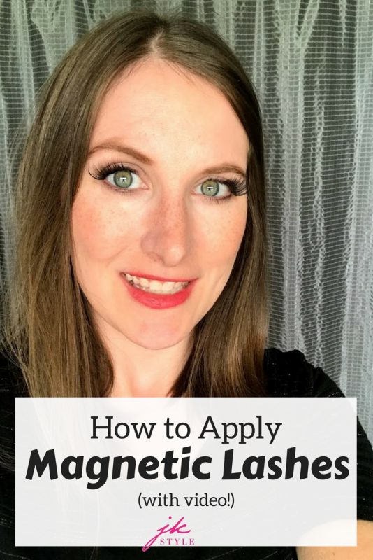 Video tutorial on how to apply magnetic lashes on JK Style #beautyreview #magneticlashes #beautyvideo #ardellbeauty