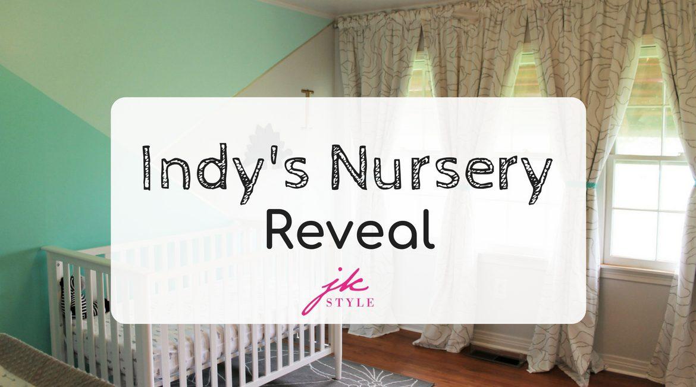 Indy's nursery reveal on JK Style