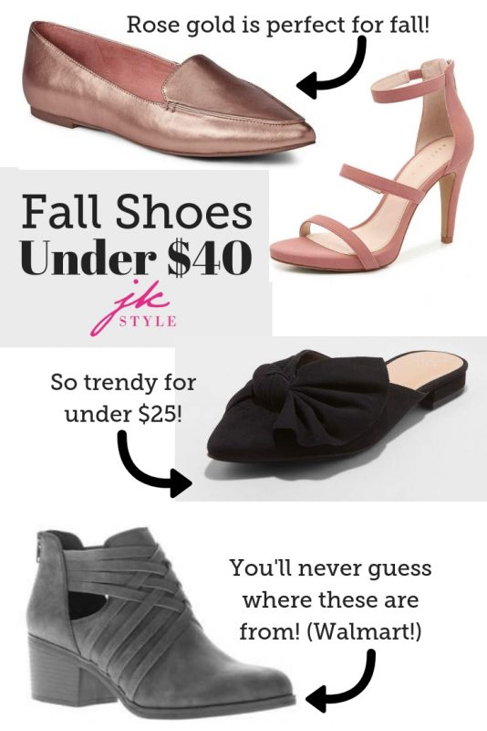 fall shoes under $40 - JK Style