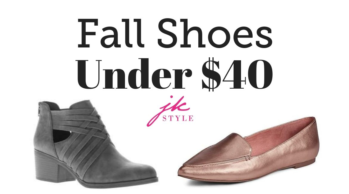fall shoes under 40
