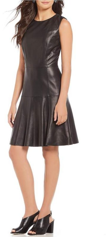 Friday Favorites - Antonio Melani Erika Leather Dress - JK Style