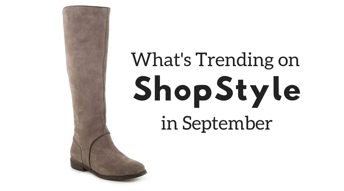 shopstyle trends in September