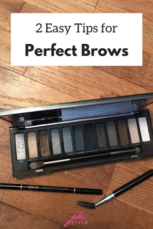 easy tips for perfect eyebrows - JK Style