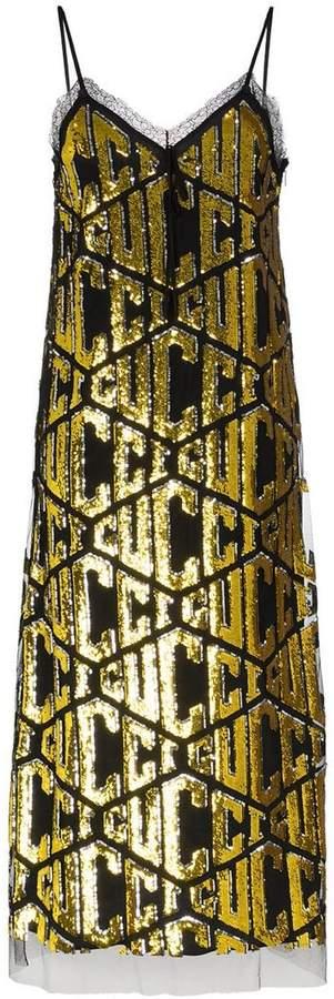 Gucci logo dress- JK Style