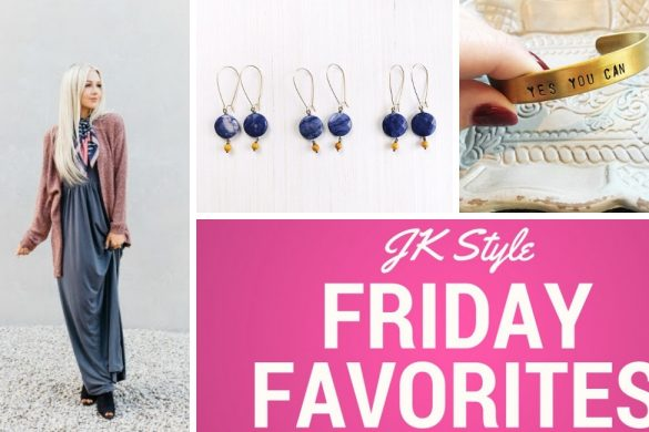 Friday Favorites for October 5, 2018 on JK Style
