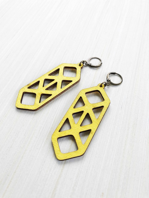 Jenna Earrings - Lemon Kissed - JK Style Friday Favorites