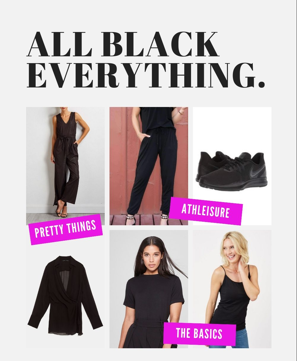 All Black Gift Guide - JK Style
