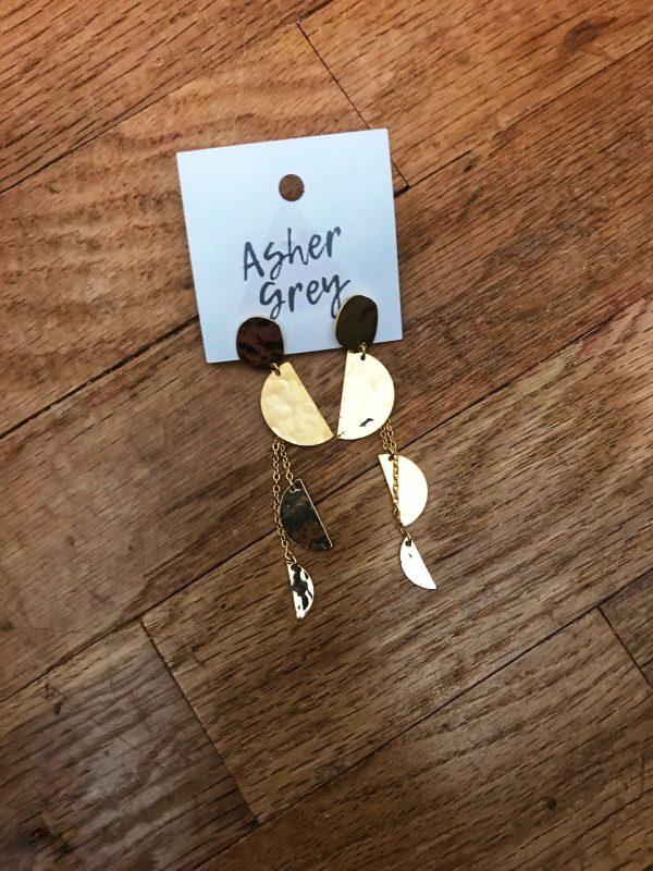 Christmas recap 2018 earrings - JK Style