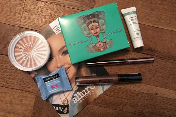 December 2018 Allure Beauty Box - JK Style