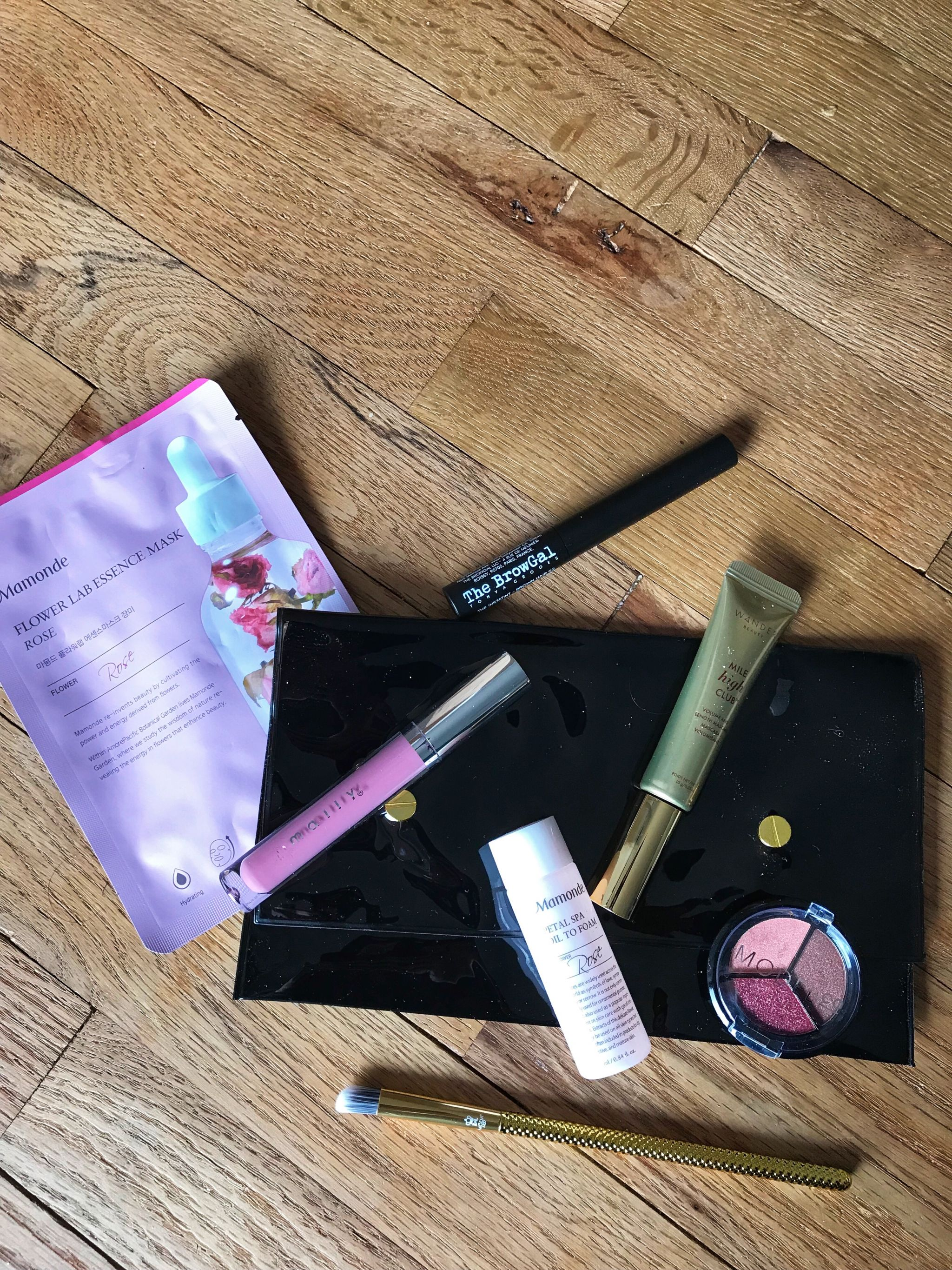 February Allure Beauty Box Review on JK Style
