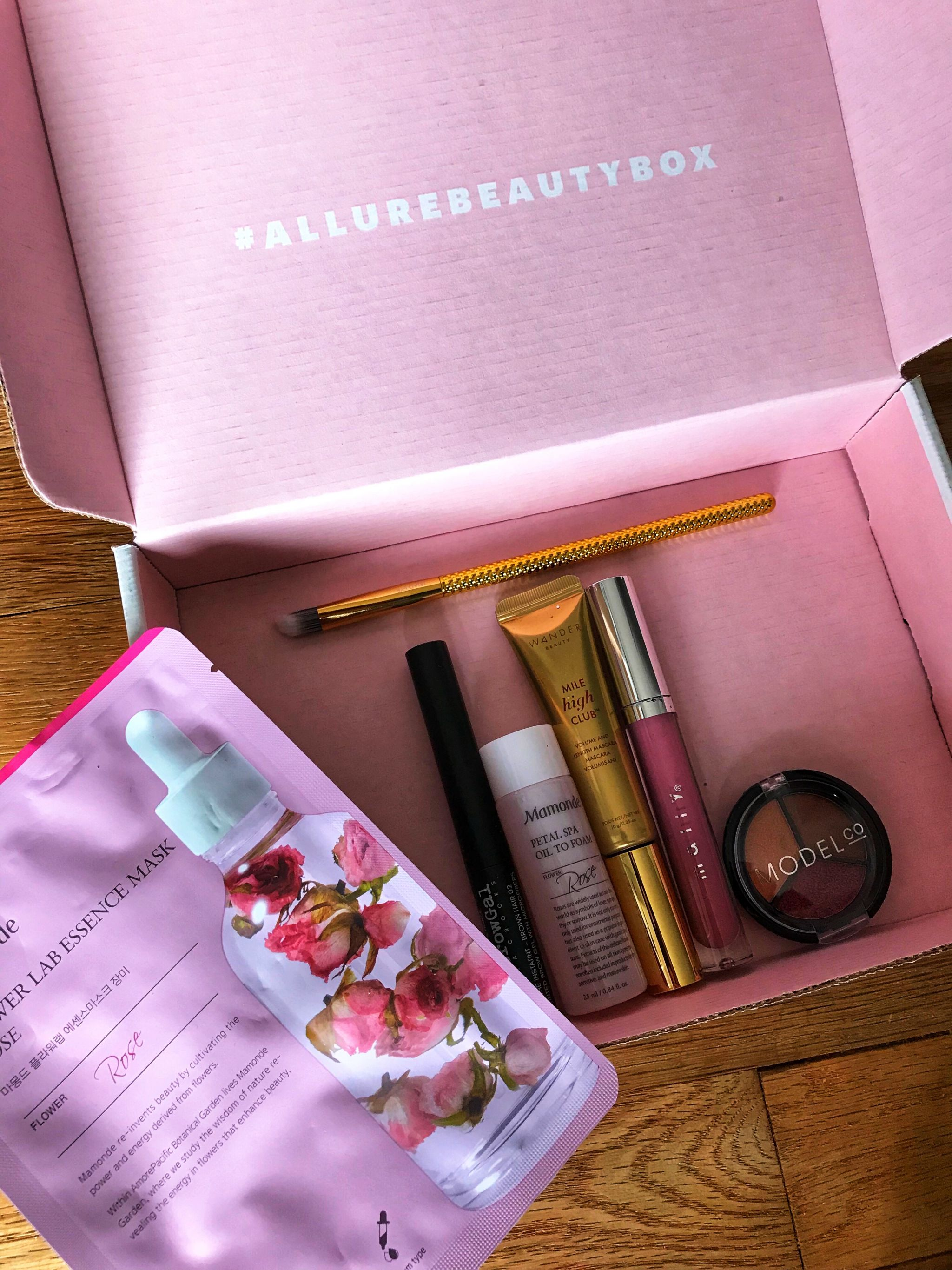 Allure Beauty Box Review on JK Style