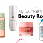 nighttime beauty routine - JK Style