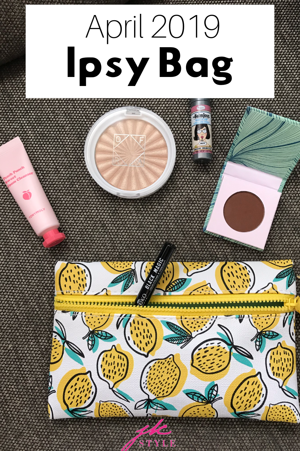 April Ipsy 2019 Review - JK Style