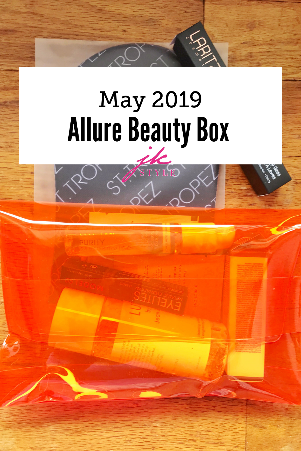 May Allure Beauty Box 2019 - JK Style