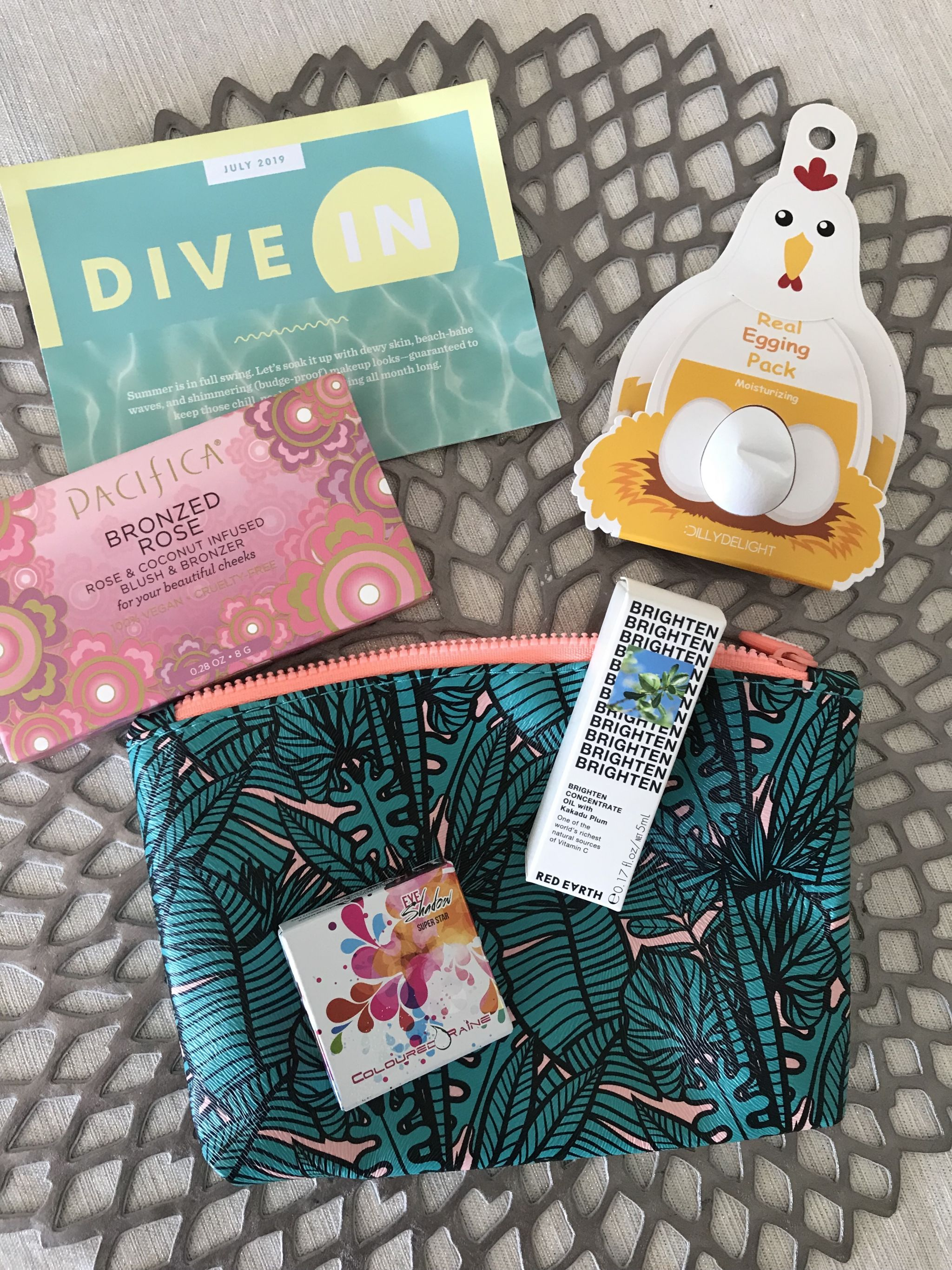 july ipsy glam bag 2019- Splendry