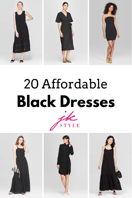 20 affordable black dresses from Target - JK Style
