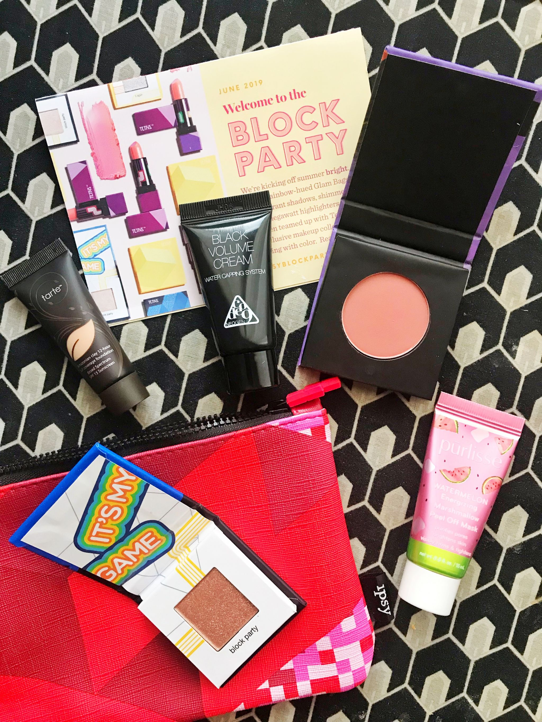 June Ipsy Glam Bag products - JK Style