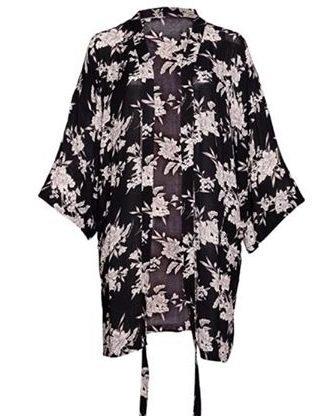 how to style a kimono- JK Style