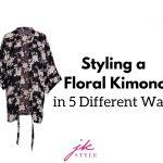 how to style a kimono - JK Style
