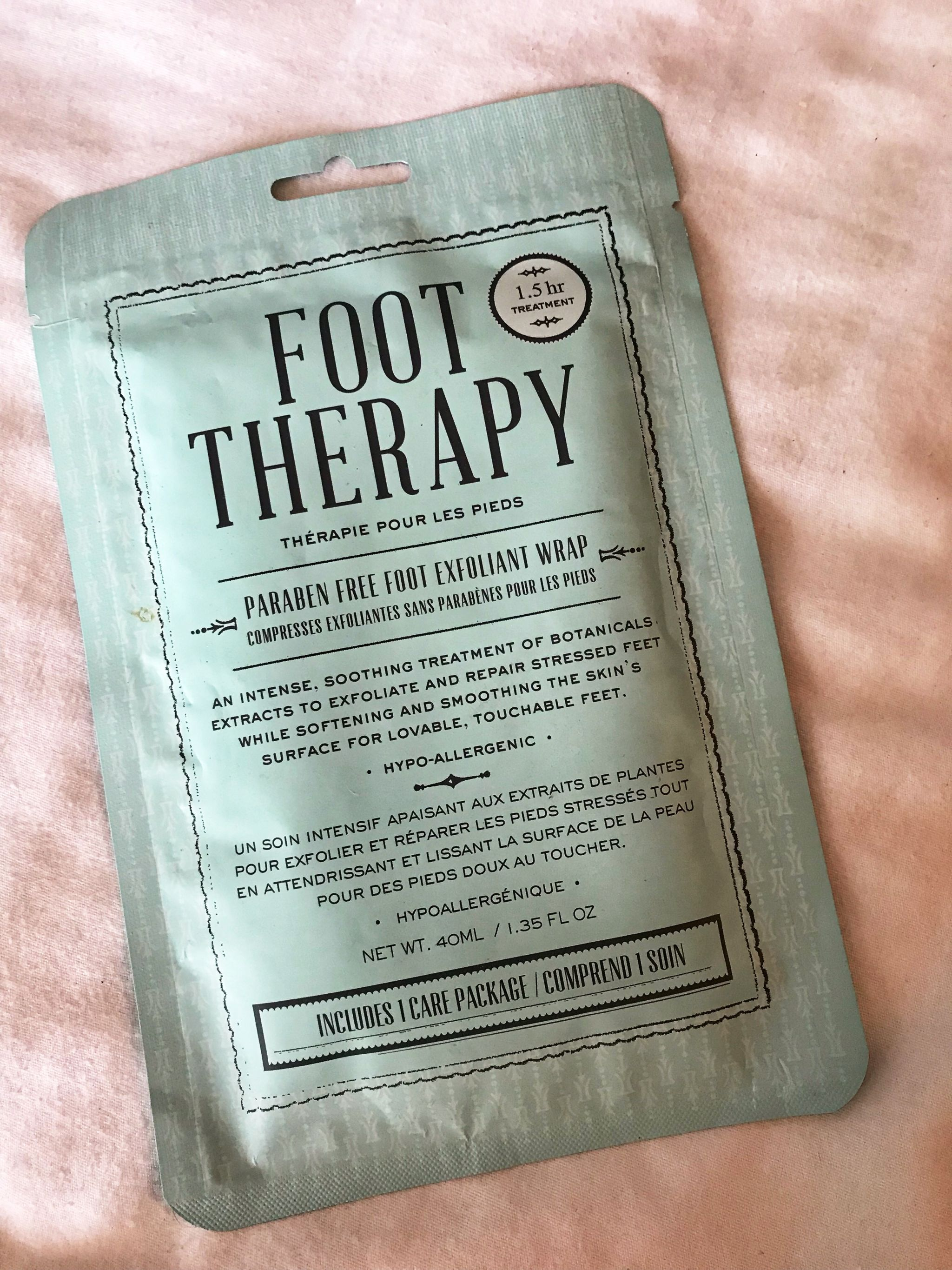 home spa products - foot therapy wrap - JK Style