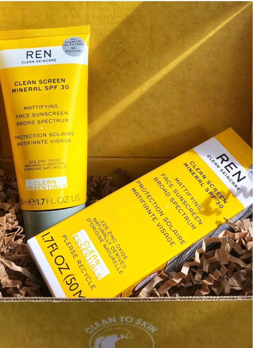 Friday Favorites - Ren Sunscreen - JK Style