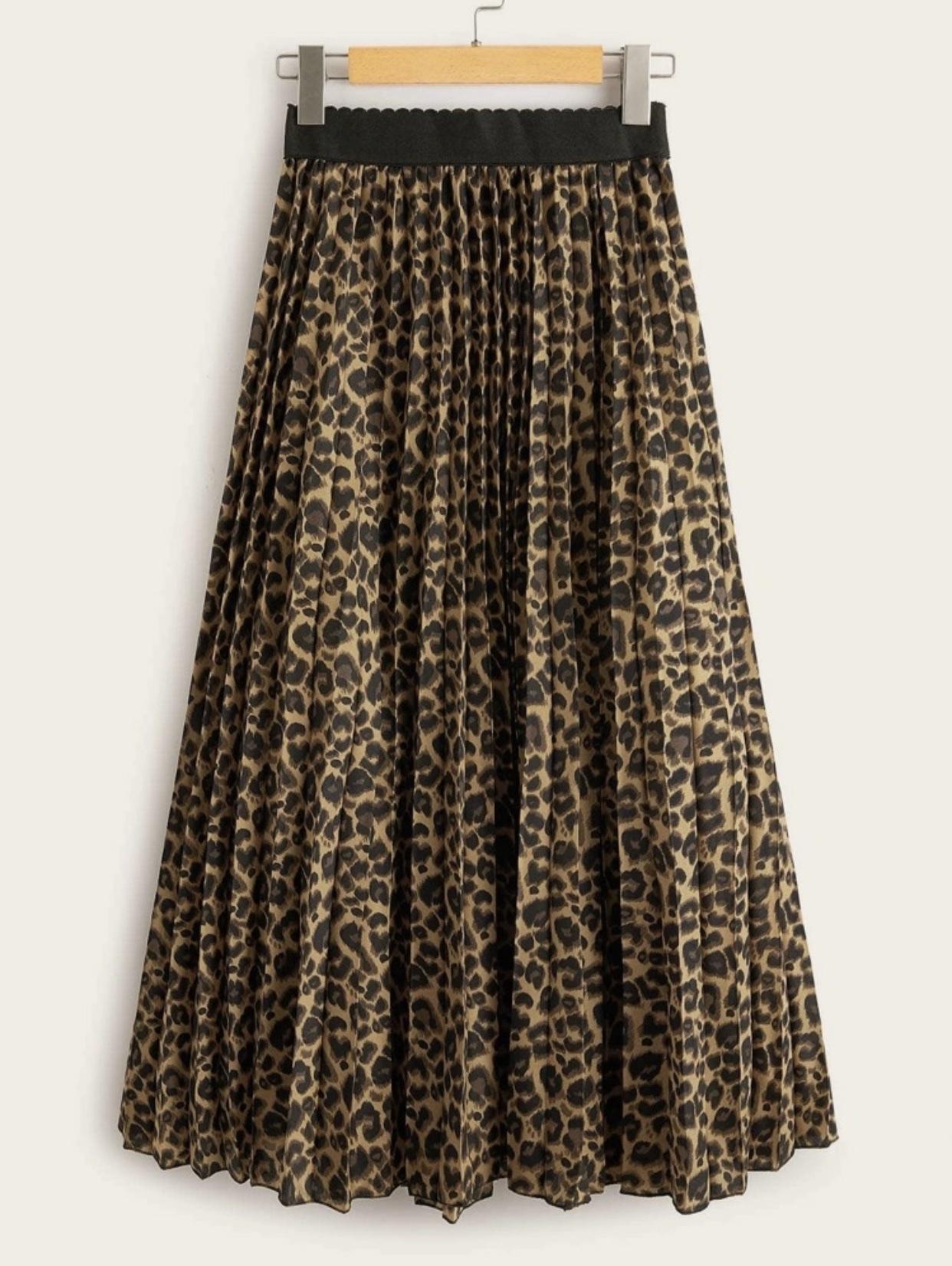 leopard skirt - JK Style