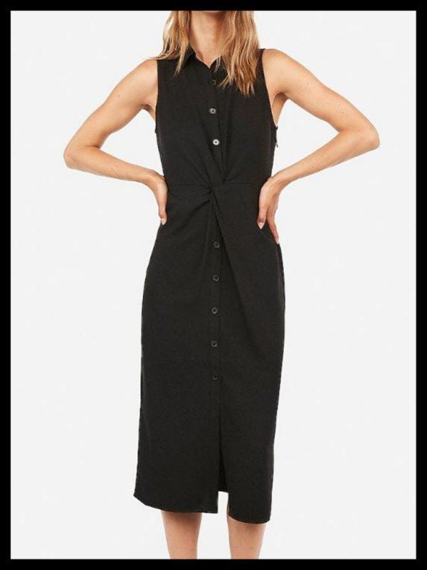 what to wear - black dress JK Style
