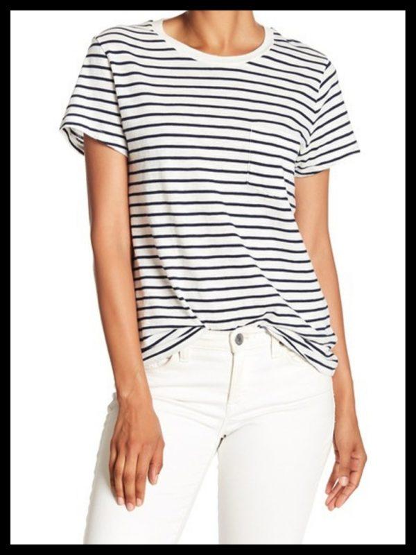 striped t-shirt - JK Style