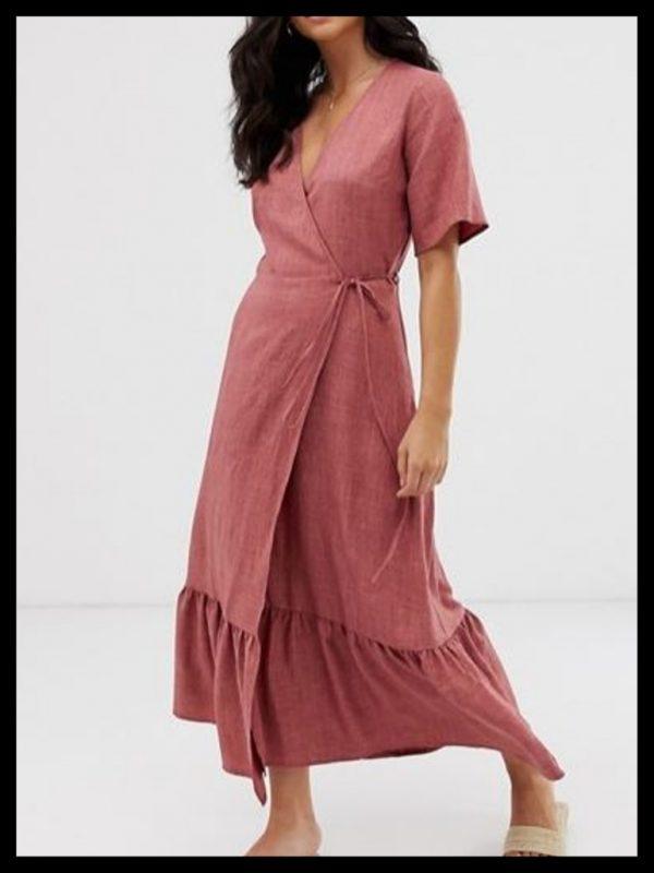 wrap dress - JK Style