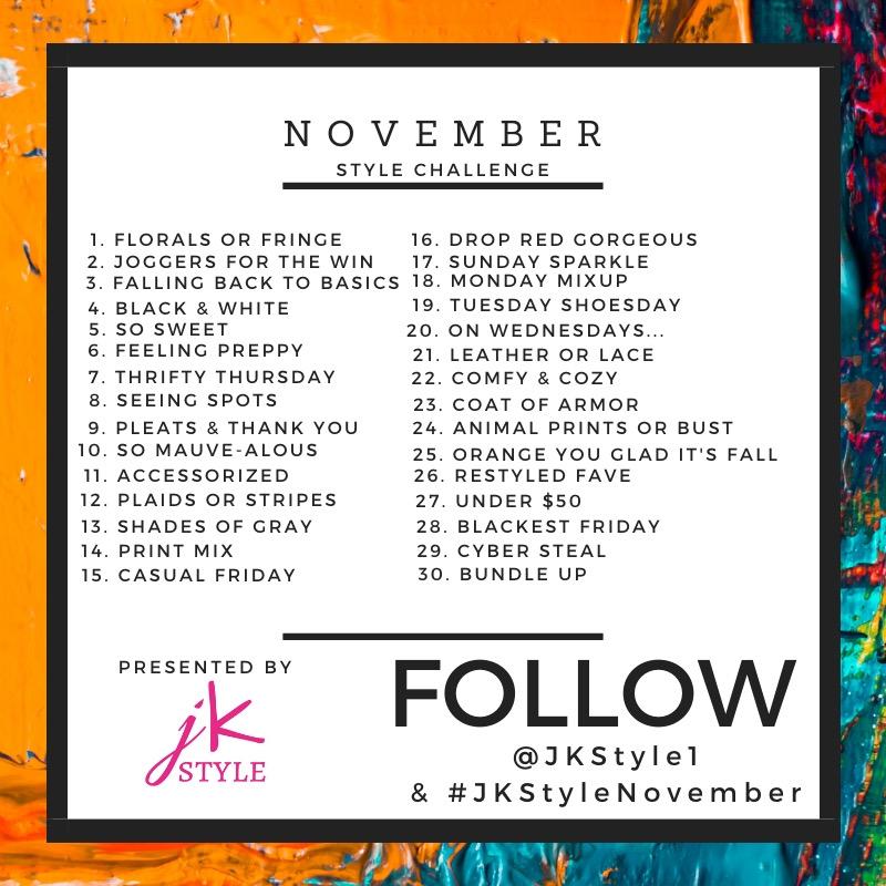 november style challenge - JK Style
