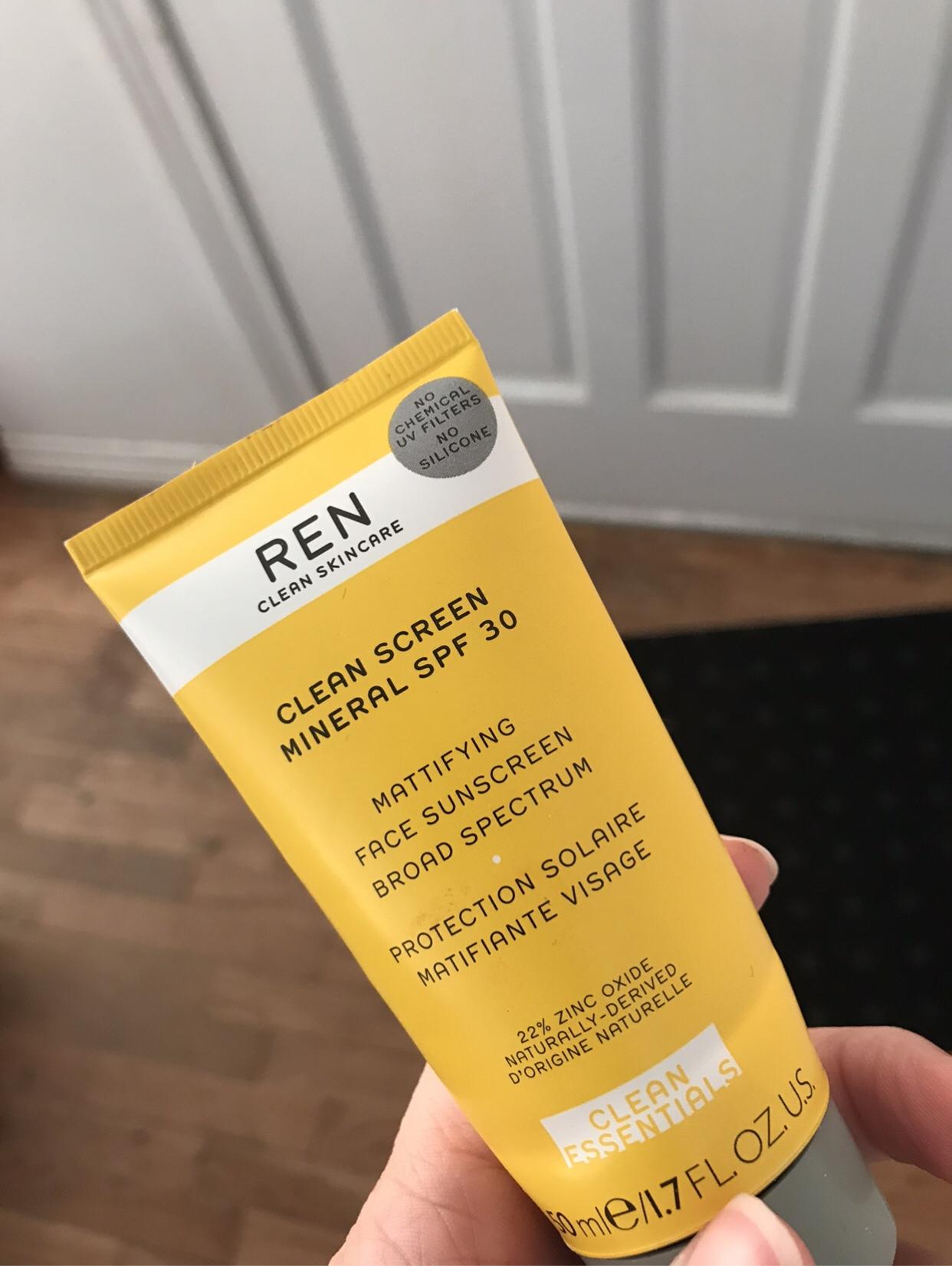 REN Clean Screen sunscreen review