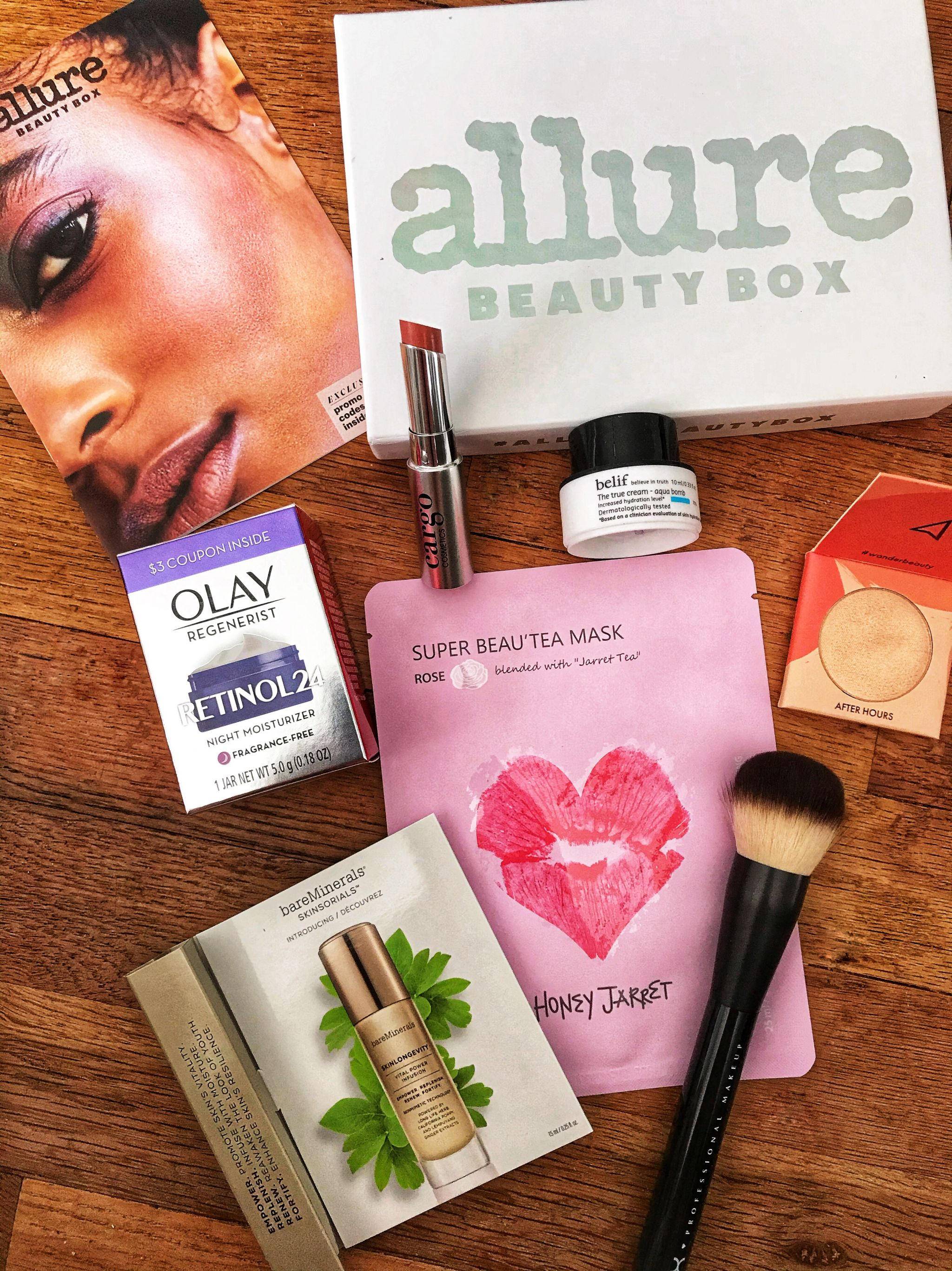 February Allure Beauty Box review