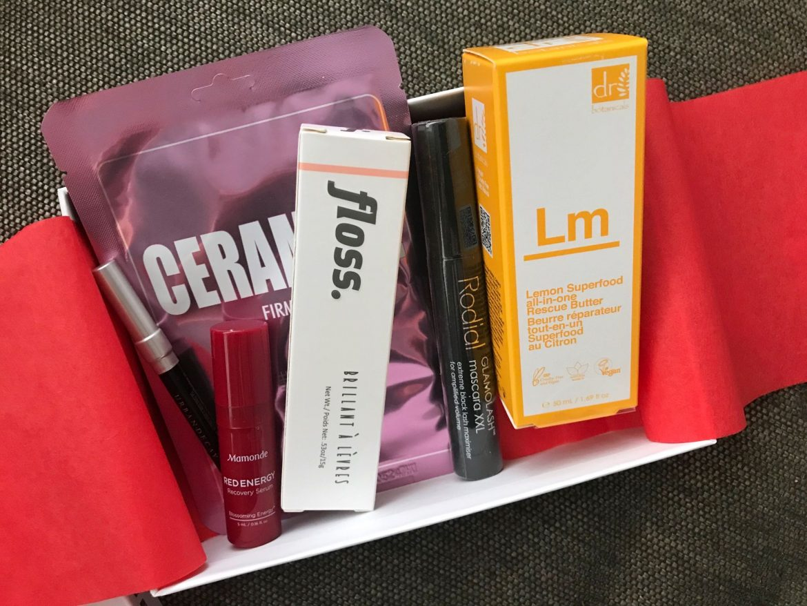 March Allure Beauty Box review 2020