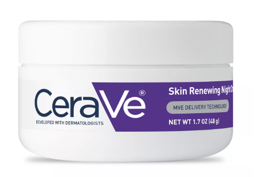 my night skin care routine - Cerave