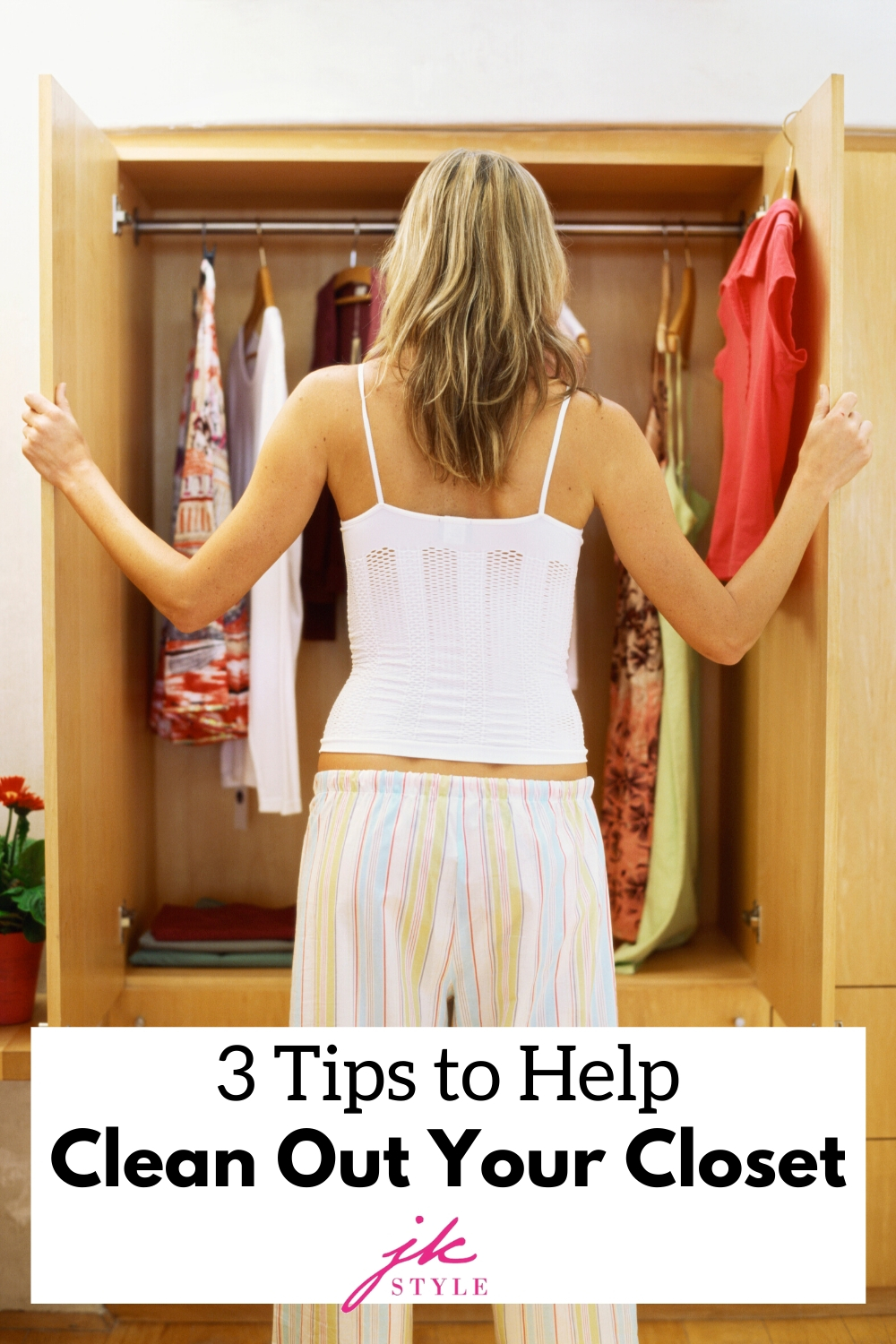 closet clean out tips - JK Style
