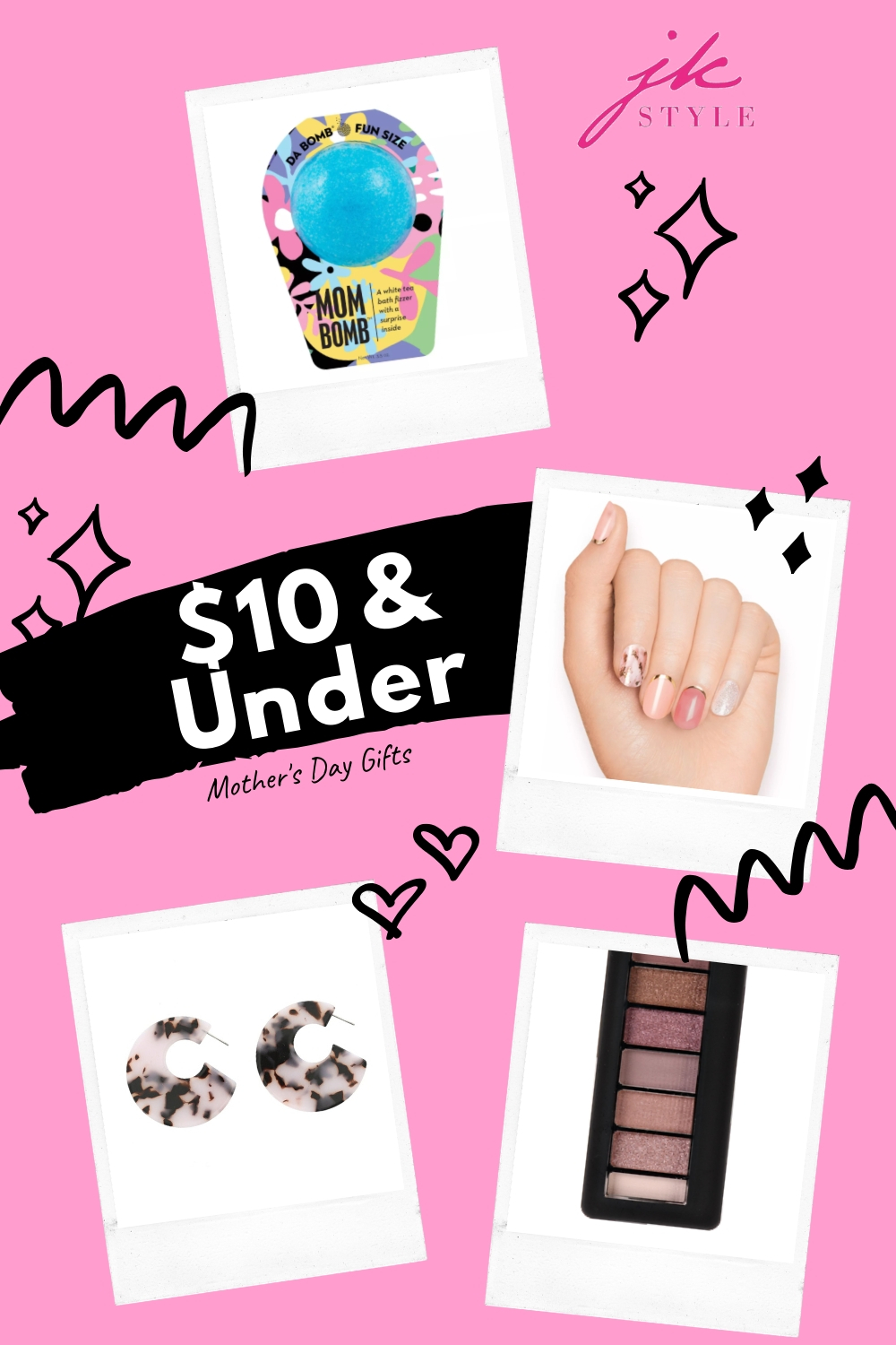 $10 and under Mother's Day gift ideas