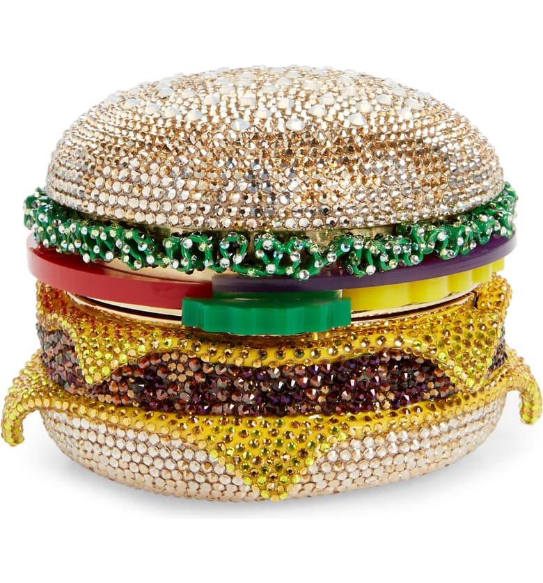 cheeseburger clutch