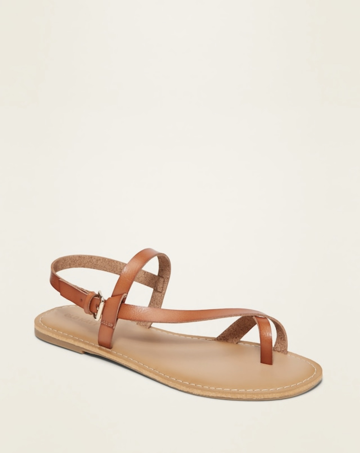 brown sandals from Old Navy