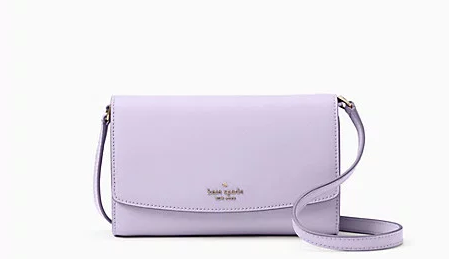 kate spade frosted lilac laurel way addison