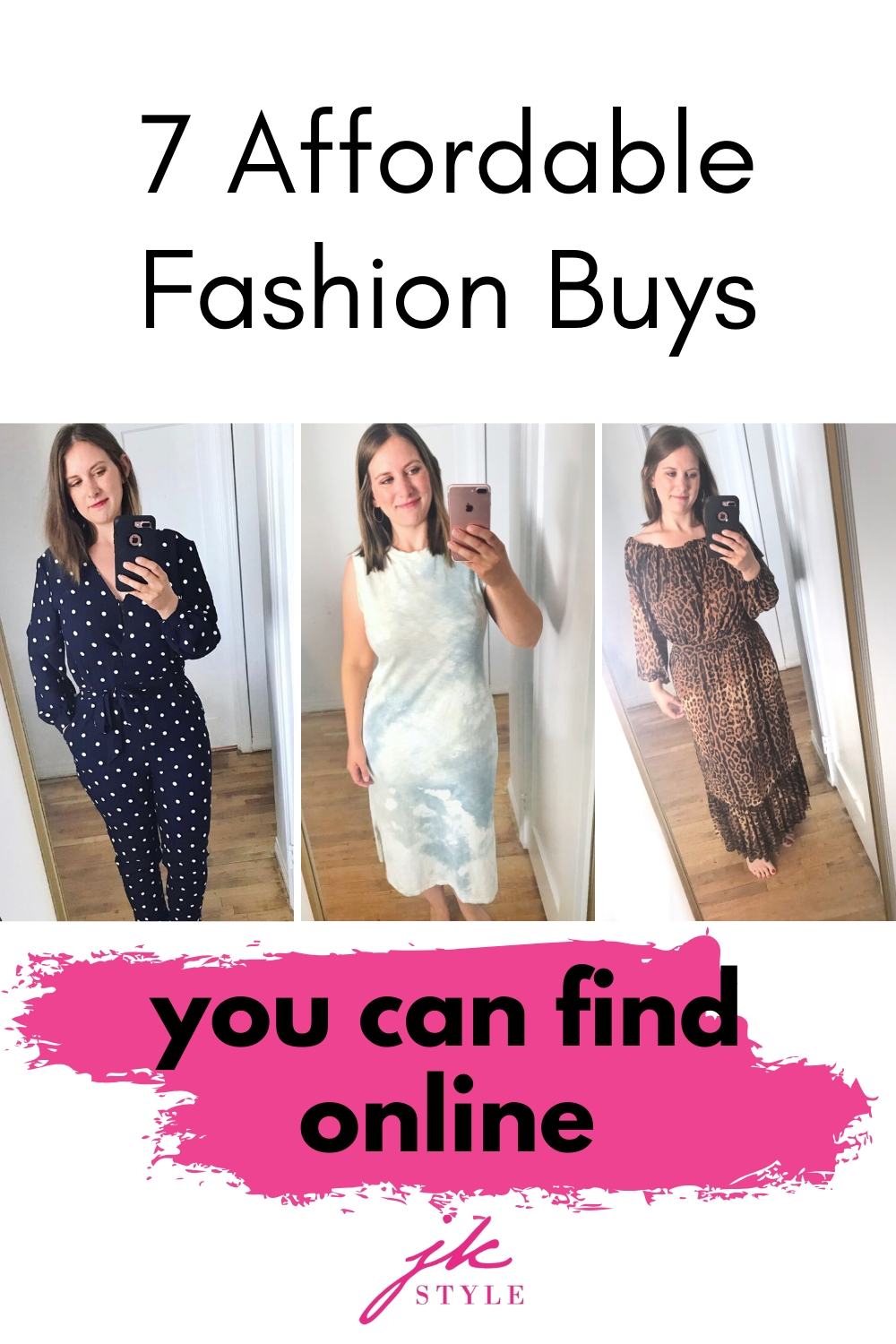 affordable fashion buys - JK Style