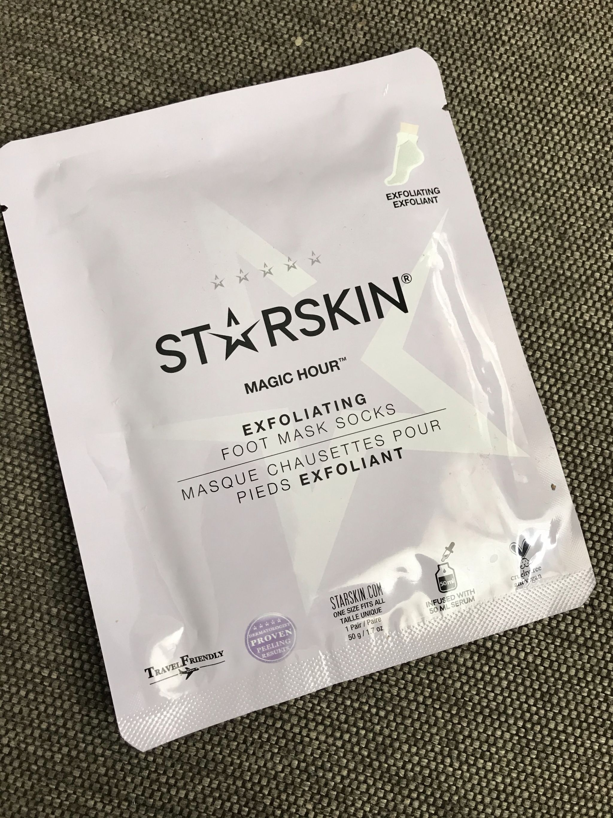 starskin foot mask