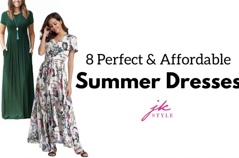 affordable summer dresses on Amazon