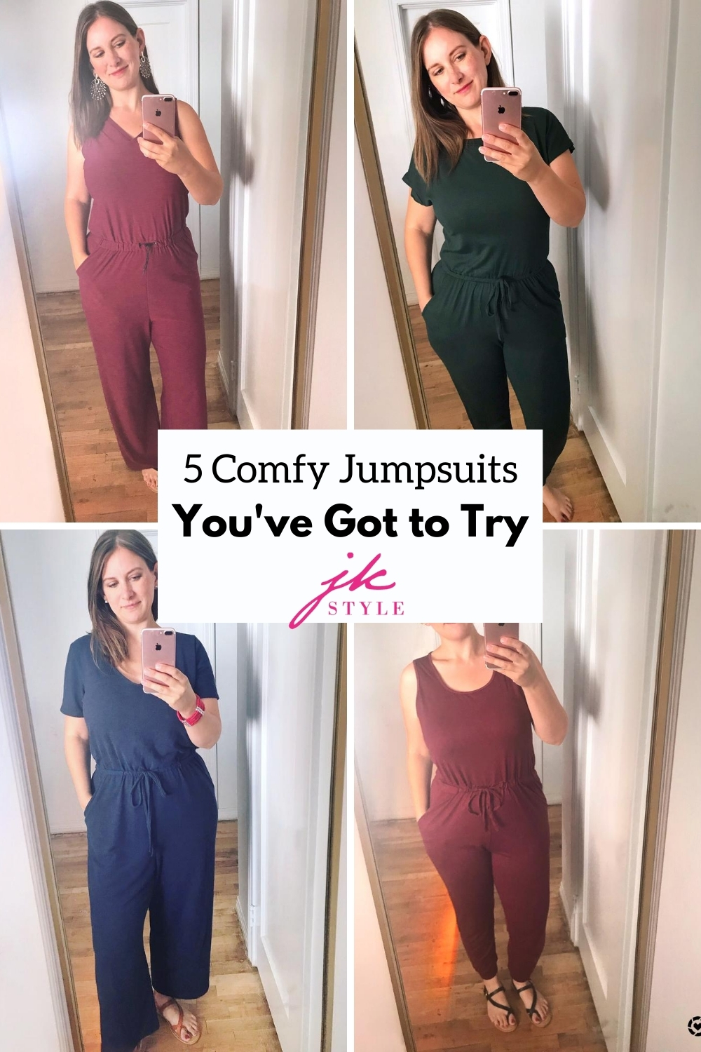 5 Comfy Jumpsuits to Try