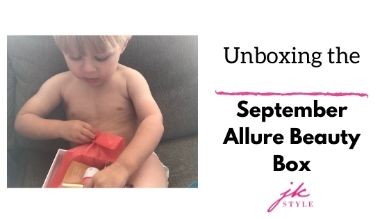 September Allure Beauty Box review