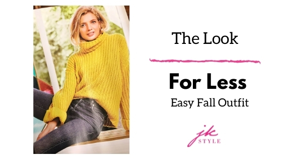 the look for less fall outfit - JK Style