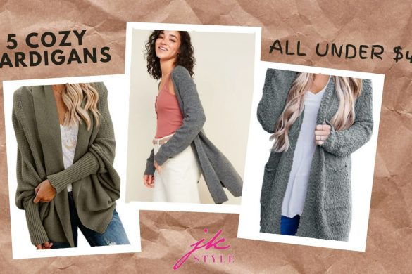 affordable cozy cardigans - JK Style