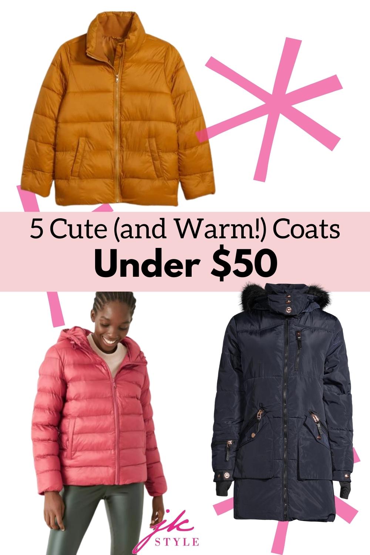 affordable fashion coats - JK Style